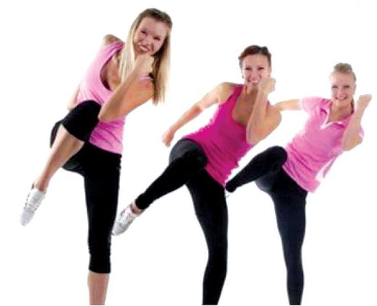Encuentro de gimnasia aer bica el viernes en el for Deportes de gimnasia