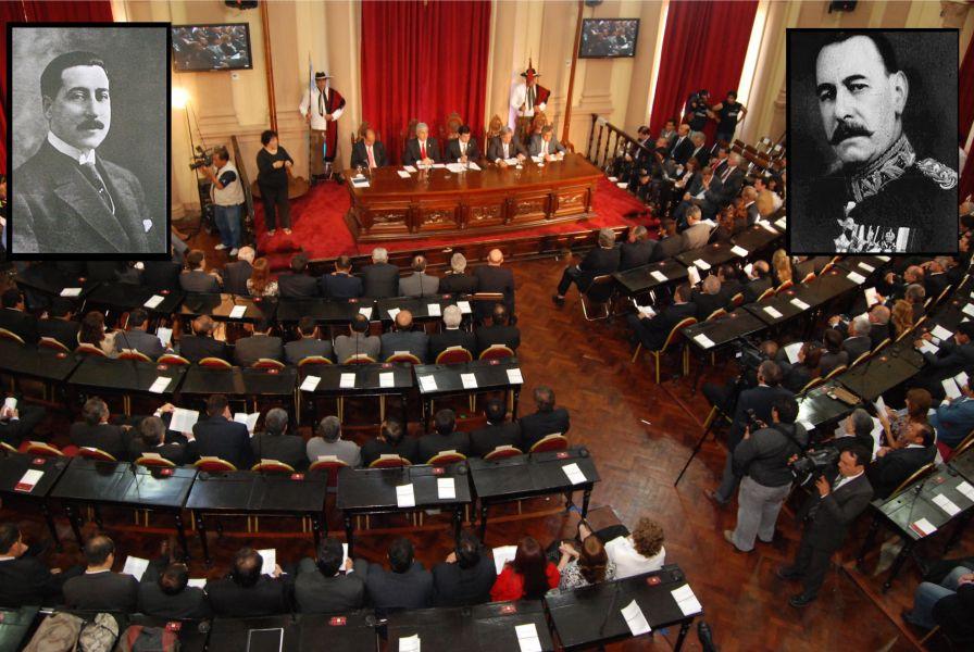 La Legislatura actual, Robustiano Patrón Costas y José Felix Uriburo.
