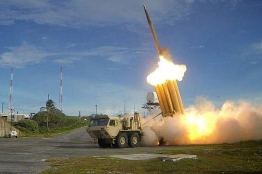 El misil estadounidense cayó cerca de el atolón una pequeña isla hecha completamente de coral.