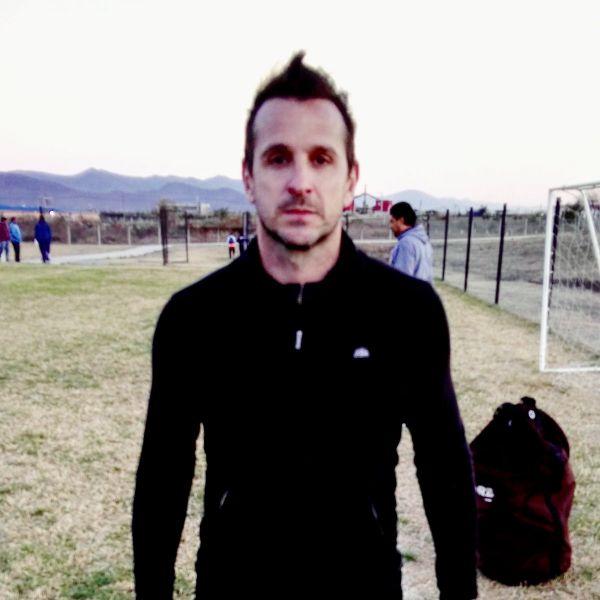 Luciano Palos, actual arquero de Camioneros. Foto: Twitter