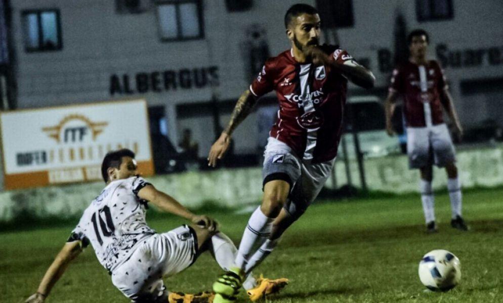 El capitán Ceballos convirtió el segundo gol de la victoria. Foto: Prensa CN oficial.