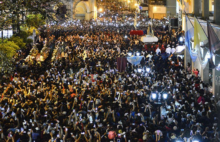 La seguridad para la procesión en el Milagro. Por esta festividad el ministro Mariano Ovejero informó que las reservas rondan el 85%.