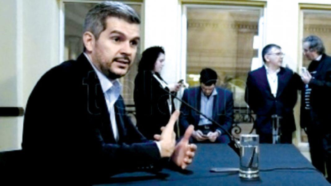 """El Jefe de Gabinete, Marcos Peña, aseguró que algunos empresarios """"tienen miedo"""" a la transformación del país."""