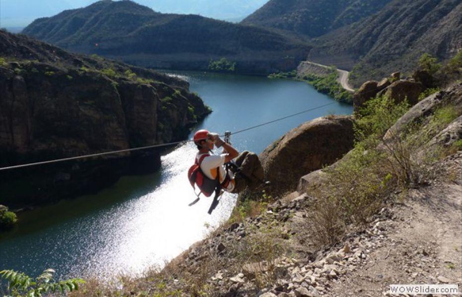 Los paisajes salteños propicios para los amantes del turismo de aventura.