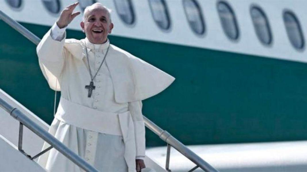 El Papa está en Georgia, primera escala de un viaje de tres días al Cáucaso.