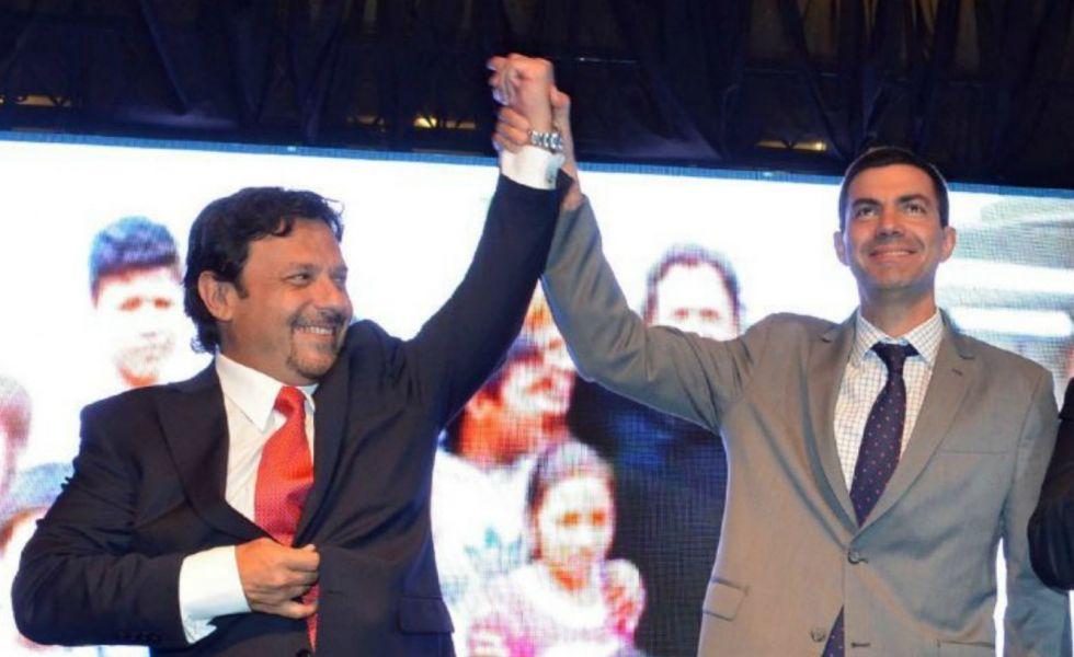 Urtubey y Sáenz en tiempos de concordia, hoy se disputan la hegemonía política en Salta.