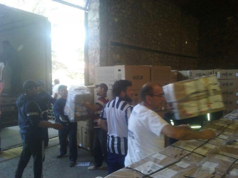 Las urnas y las terminales de voto electrónico ya se distribuyeron en distintos puntos del interior, esencialmente en los sitios más alejados.