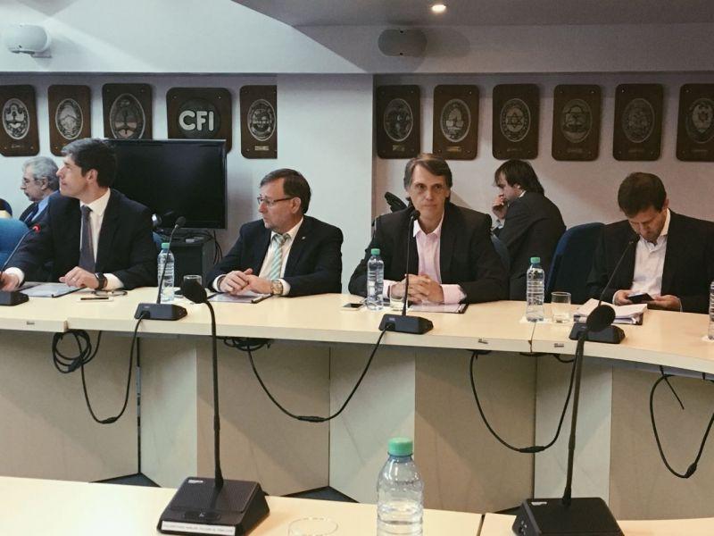El diputado Pablo Kosiner participó de la reunión del Consejo Federal de Inversiones (CFI).