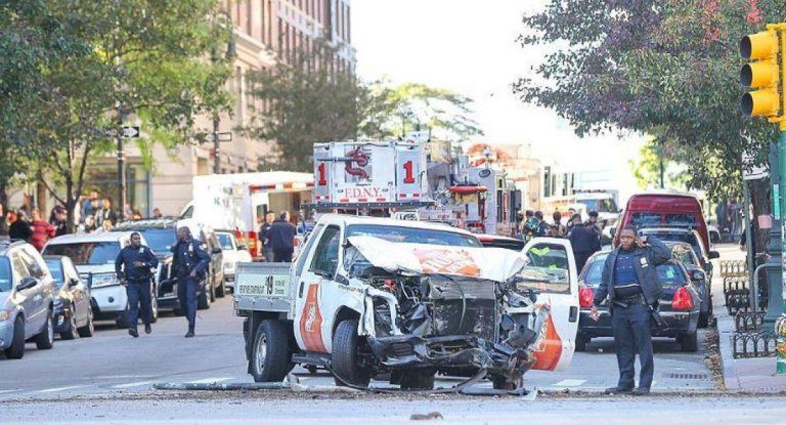 El conductor que produjo el atentado en el centro de Nueva York fue detenido y estaría idenfiticado como El uzbeko de 29 años.