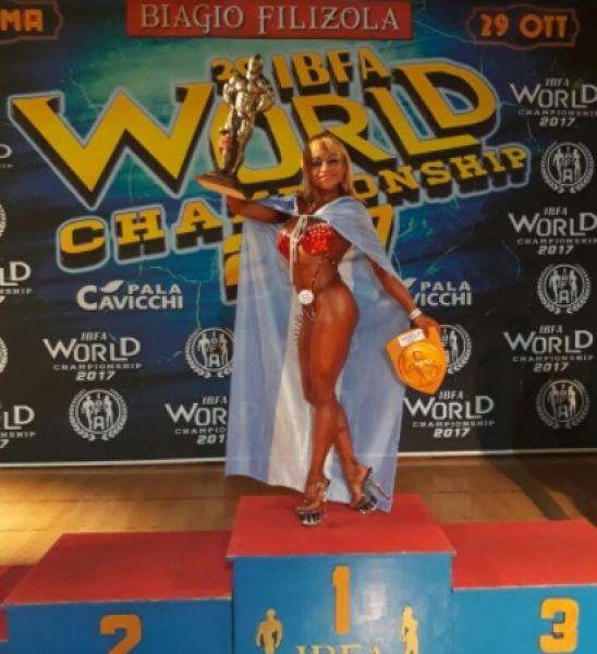 Claudia Gaitano conquistó el mundo en Roma.