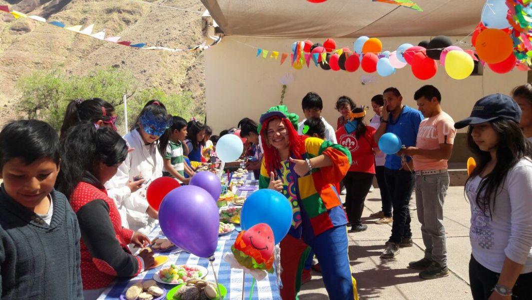 Celebraron los cumpleaños de alumnos de dos escuelas rurales