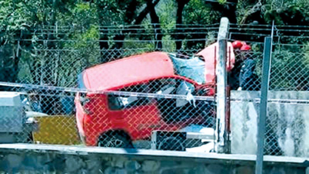 El vehículo se introdujo al camping de Campo Quijano y mató a cuatro personas y ocasionó graves heridas a otras cuatro más.