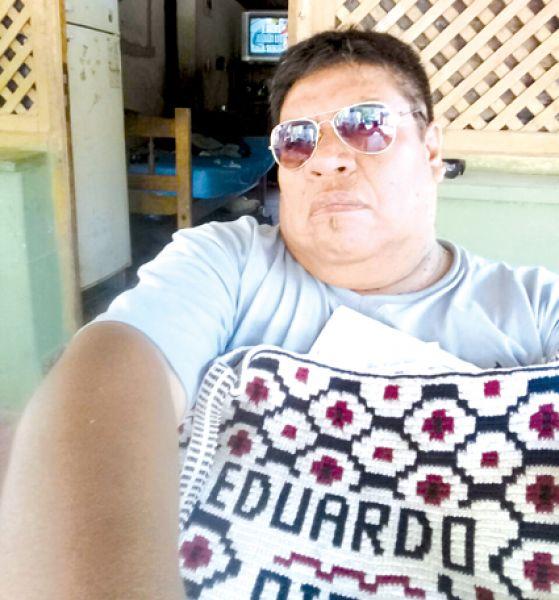 El cacique ancestral Eduardo Pisco, de Misión Cherenta.