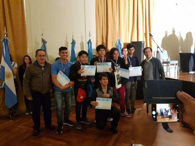 Los alumnos salteños de la ex ENET N° 2 recibieron ayer su reconocimiento del INET en Mar del Plata.
