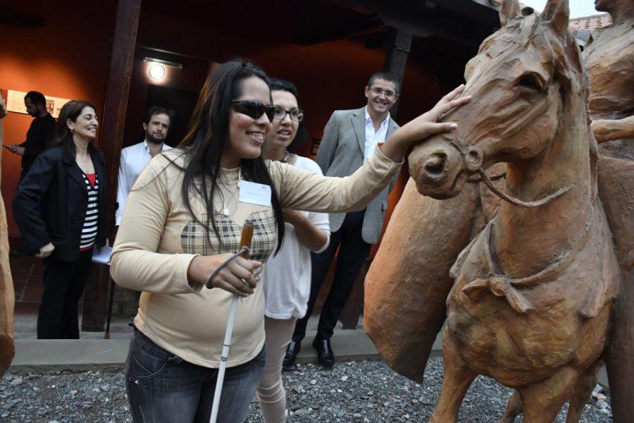En el Museo Guemes habrá todos los jueves un recorrido sensorial gratuito para personas con discapacidad.