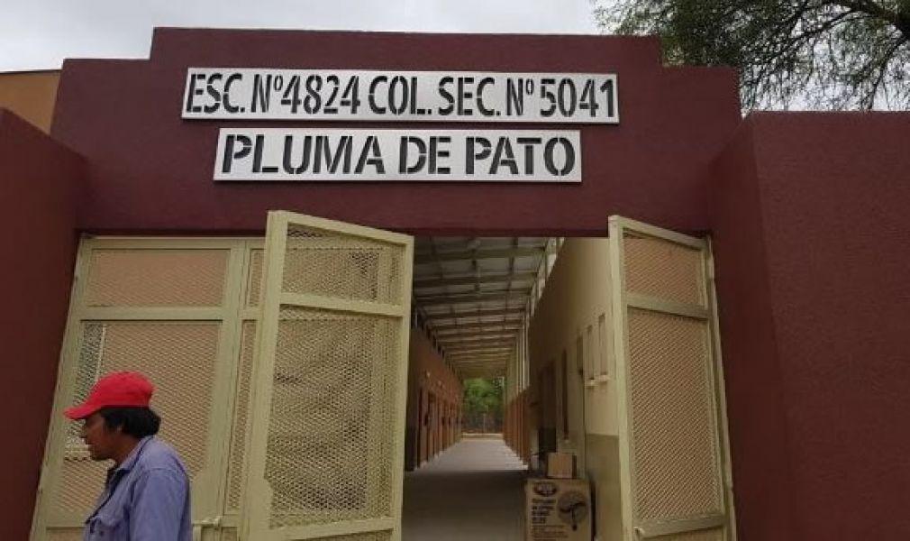 En Pluma de Pato, el presidente Macri y Urtubey inaugurarán el nuevo edificio del colegio N° 5041.