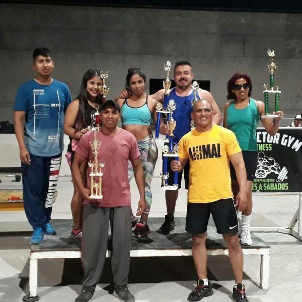 Los campeones en el torneo de Rosario de Lerma.