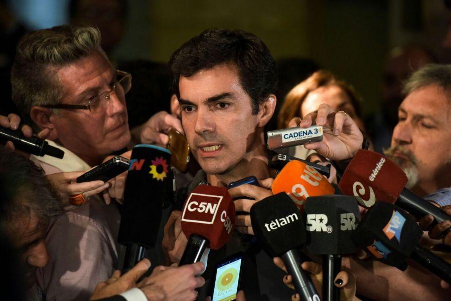 El gobernador salteño informa sobre la reunión.