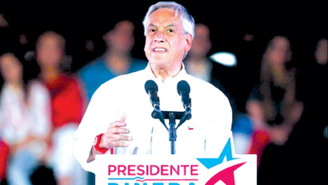 Piñera es favorito pero no alcanzaría  la mayoría en la elección de mañana.
