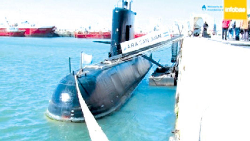 El submarino ARA San Juan se encuentra desaparecido desde el miércoles pasado.