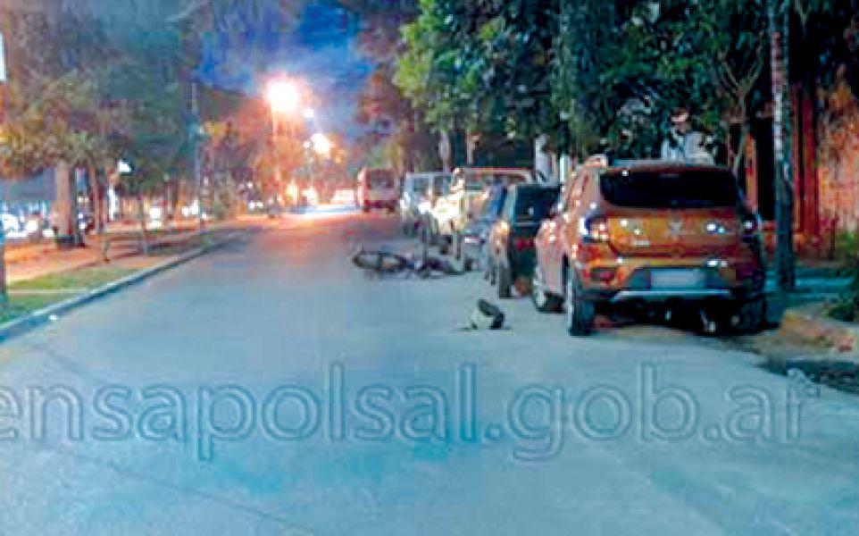 Lugar del accidente ocurrido el 1 de noviembre en la ciudad de Tartagal.