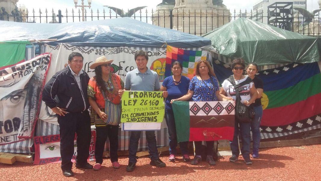 Los representantes de pueblos originarios entendieron que pasaron los 10 días legales que habilitan la promulgación de la Ley.
