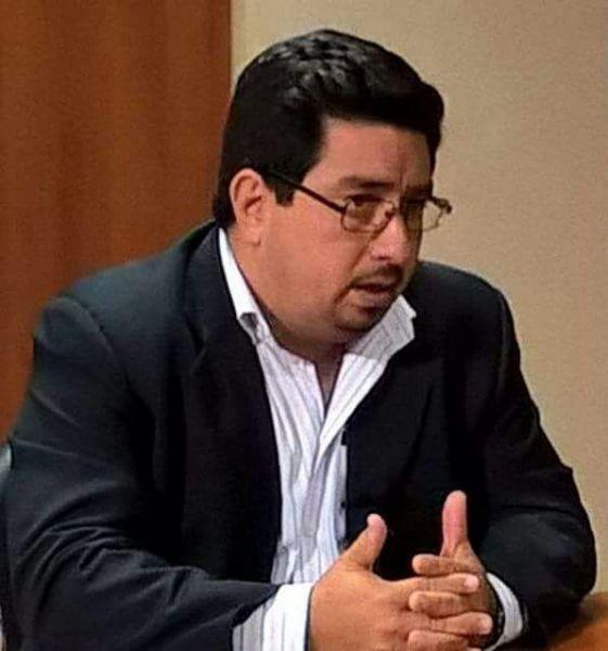 Esteban Cabrini, de la Oficina Hospitalaria de Violencia contra la Mujer del San  Bernardo.