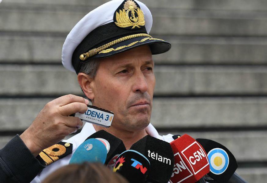 El vocero de la Armada, Enrique Balbi, señaló esta tarde queno hubo avancessobre la búsqueda y rescate del submarino ARA San Juan.