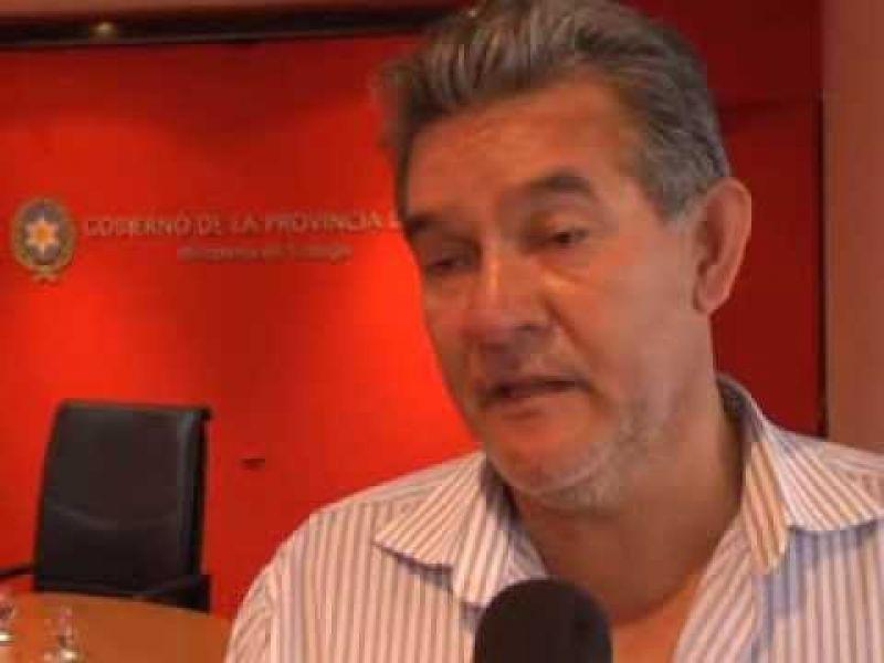 Gustavo Soto, secretario general de UPCN. esperan poder reunirse con el jefe de Gabinete, Fernando Yarade, para poder evacuar las dudas.