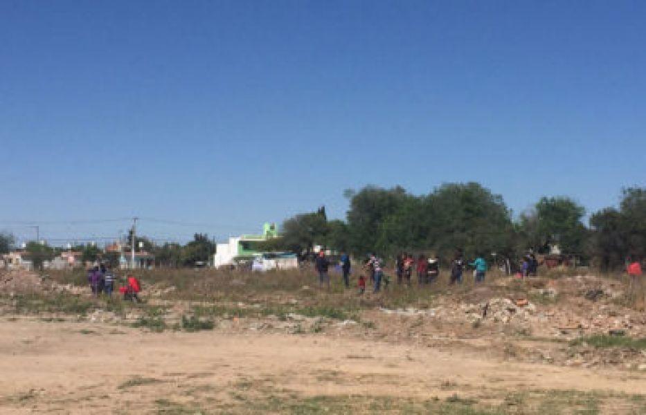Los terrenos que estuvieron en disputa por una usurpación en El Bordo y por el cual una mujer activista irá a juicio.