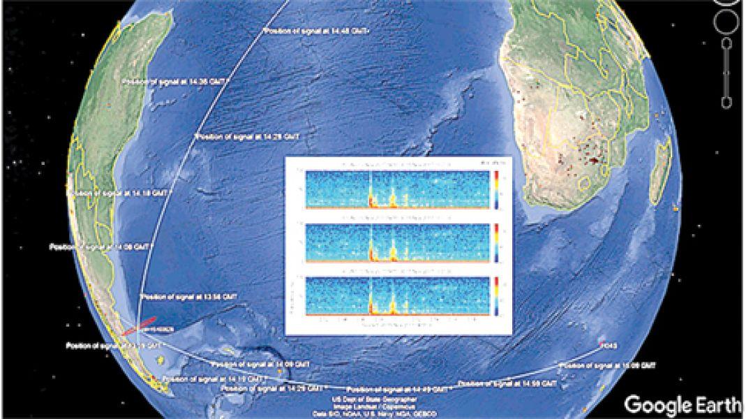 Dos sensores a 7000 kilómetros y otro a unos 10.000 kilómetros de distancia registraron el suceso.