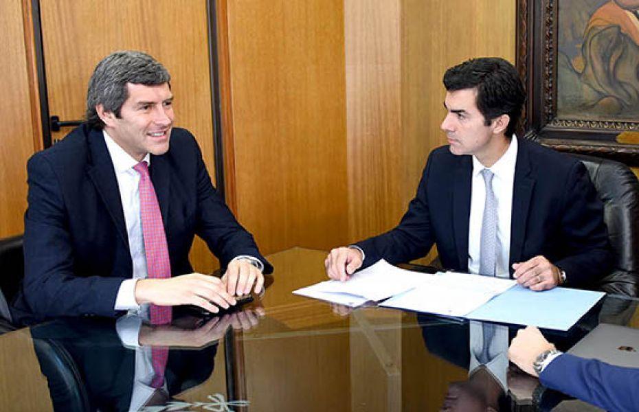 Fernando Yarade y Juan Manuel Urtubey.