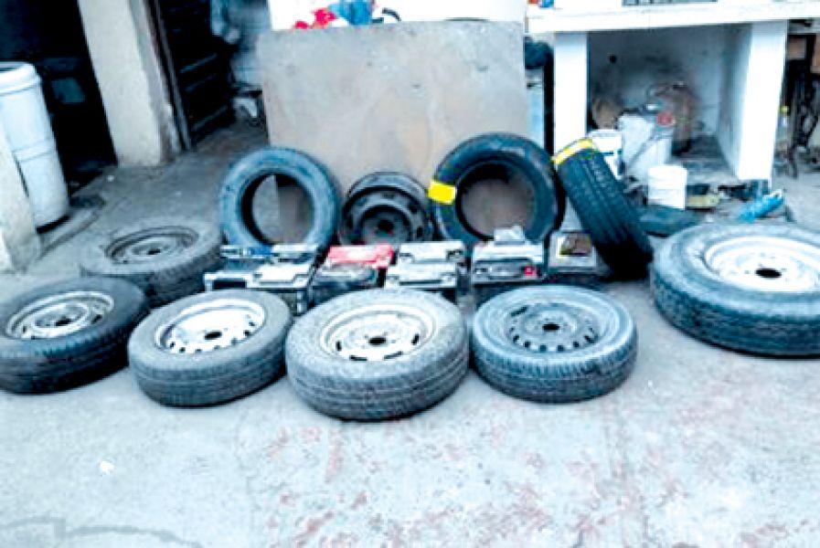Los objetos robados por una banda fueron secuestrados durante un operativo de 22 allanamientos.