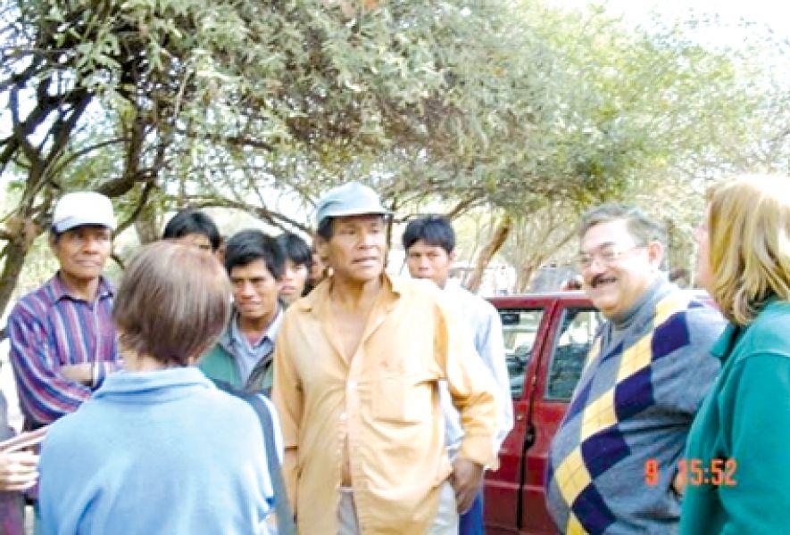 Integrantes de la comunidad de Pizarro no dejan entrar a la Administración de Parques Nacionales por no regularizar las tierras.