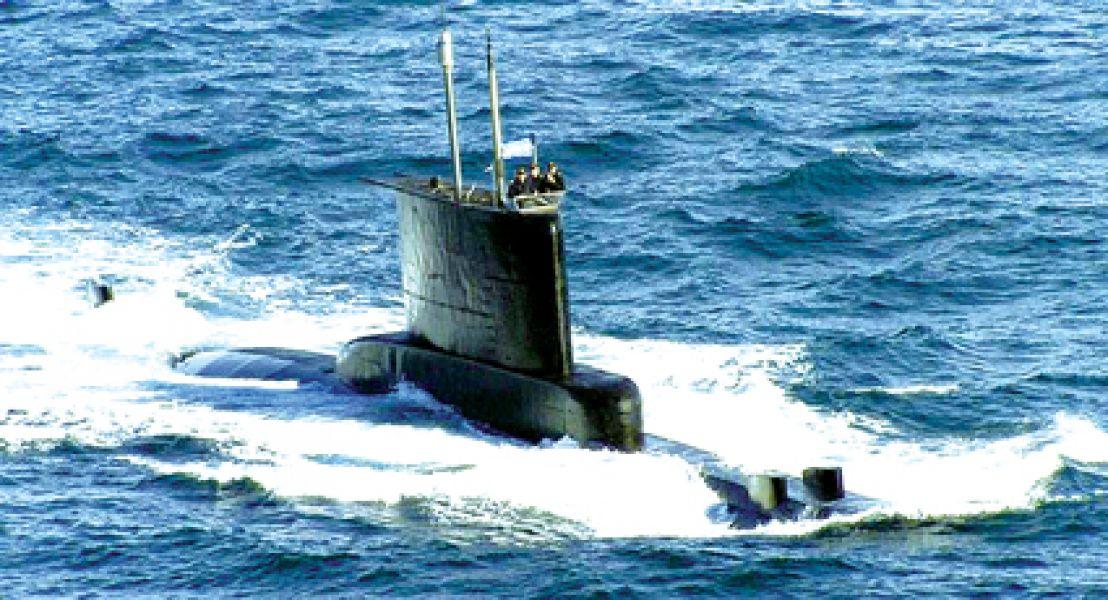 """La Armada dio por """"finalizada la etapa de rescate de los tripulantes"""" del ARA San Juan desaparecido desde el 15 de noviembre,"""
