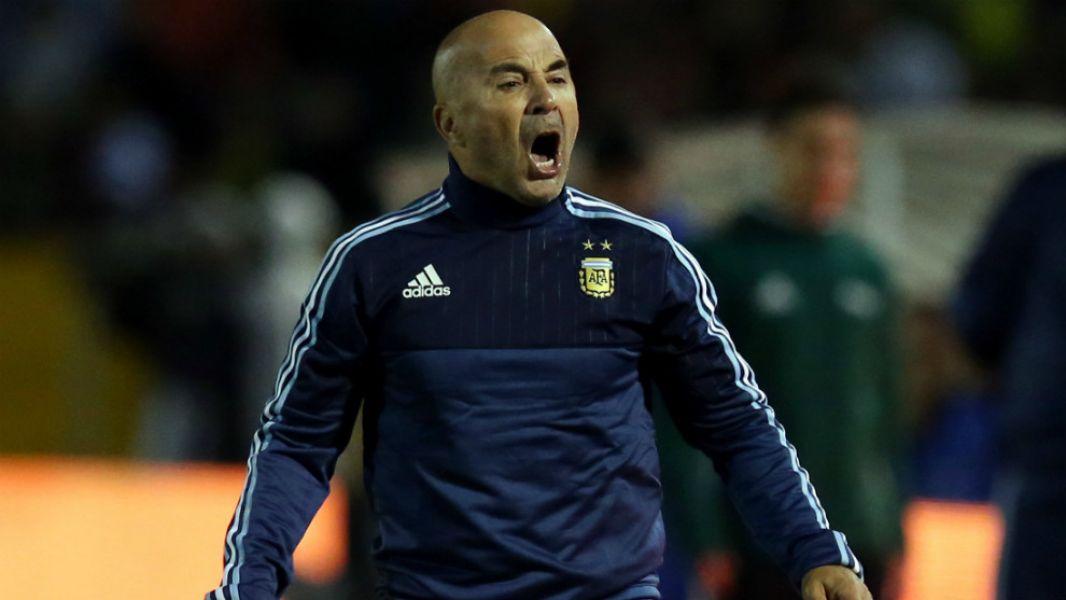 Jorge Sampaoli le respondió a Maradona.
