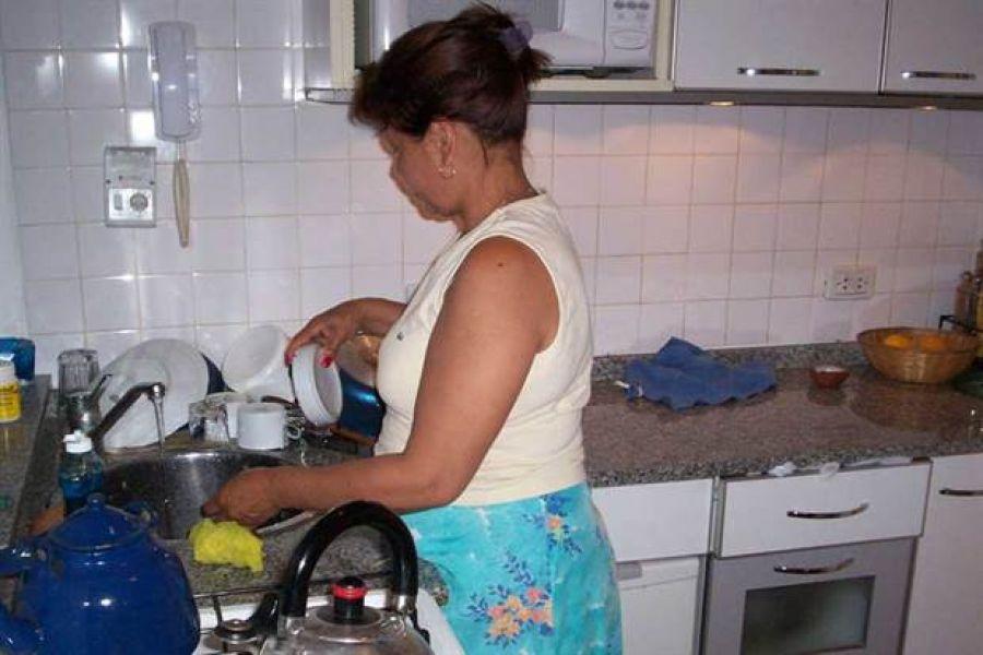Con los sueldos de diciembre el incremento es del 24% para las trabajadoras de casas particulares.