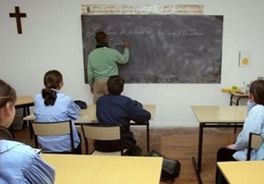 """""""No tiene que entrar la religión -ni obligatoria ni no obligatoria- en la escuela pública"""", dijo el director de la ADC."""