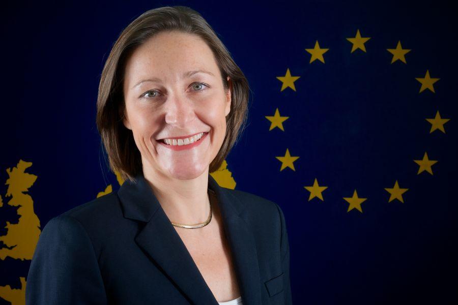 Aude Maio-Coliche, embajadora de la UE.