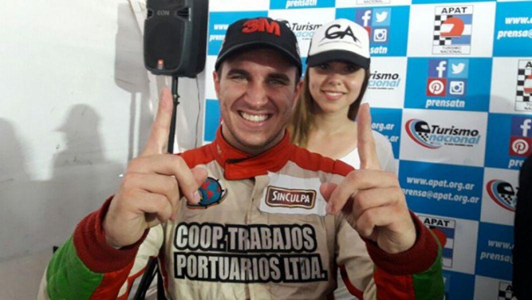 Mariano Werner, campeón de la Clase 3 de Turismo Nacional.