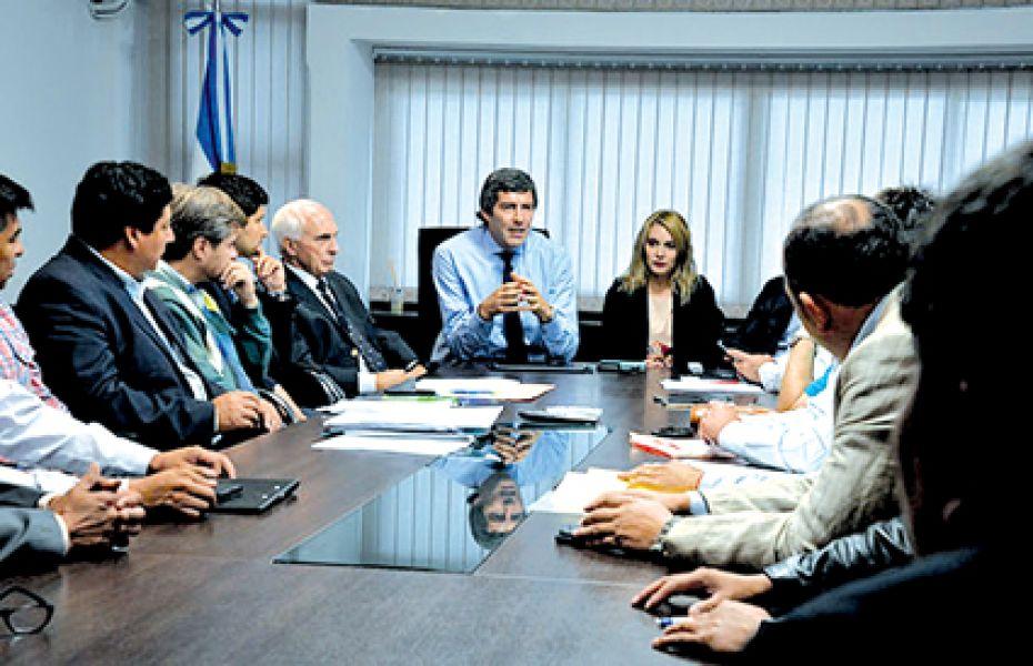 Yarade y diputados justicialistas avanzaron sobre los proyectos de ley enviados con la reforma tributaria y el presupuesto 2018.