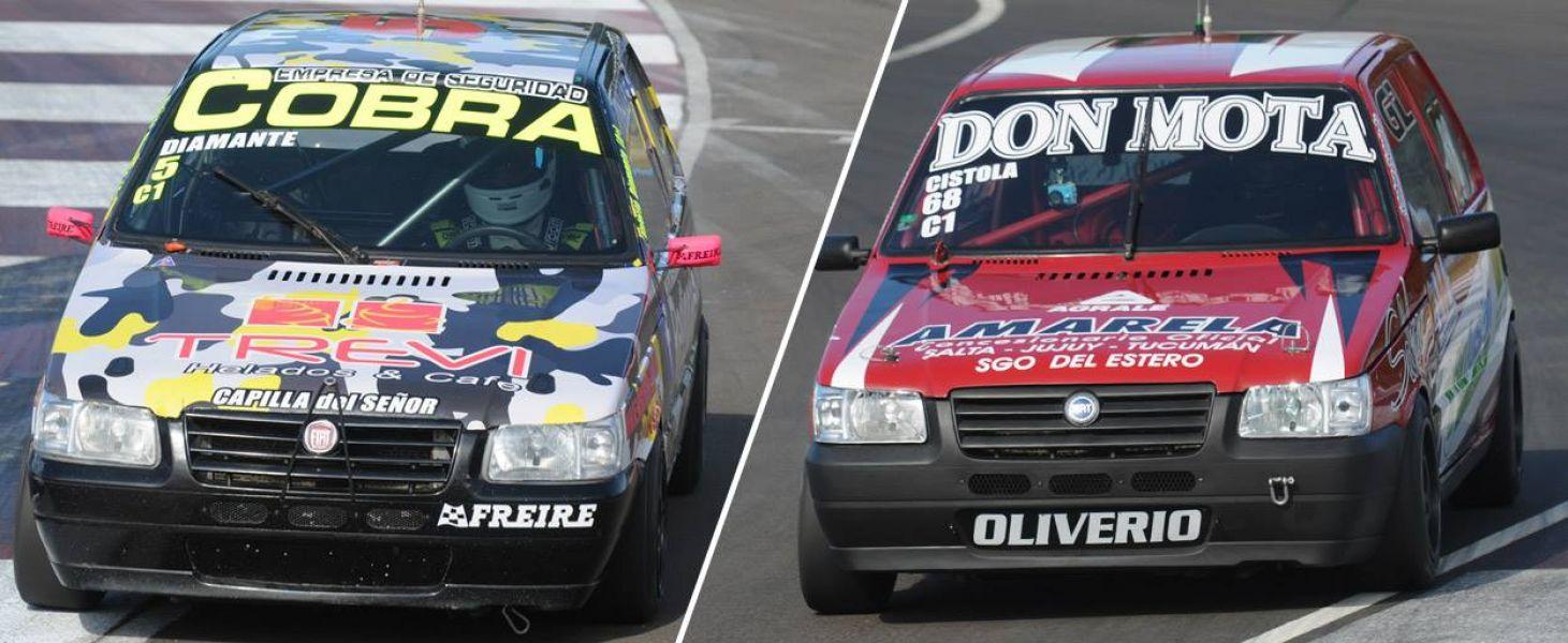 Los Fiat Uno de Diamante que llega a esta definición con 149 puntos, mientras que el salteño Cístola suma 148,5 unidades.