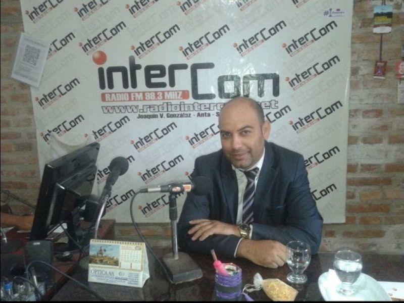 El fiscal Gonzalo Gómez Amado (Foto: Radio Intercom).