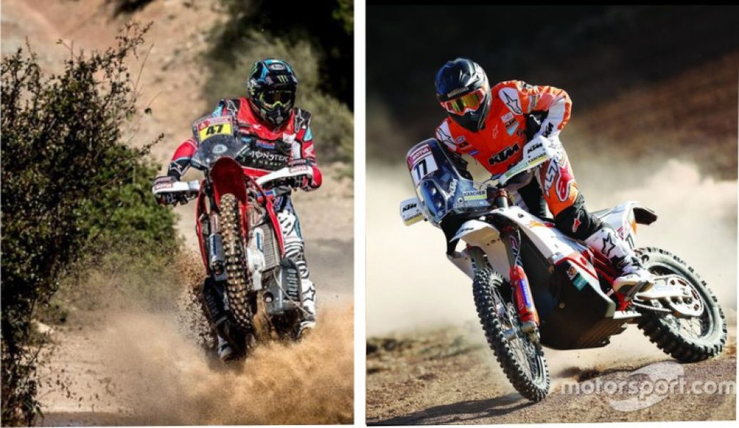 La Honda Nº 47 de Kevin y la 77 de Luciano Benavidesw
