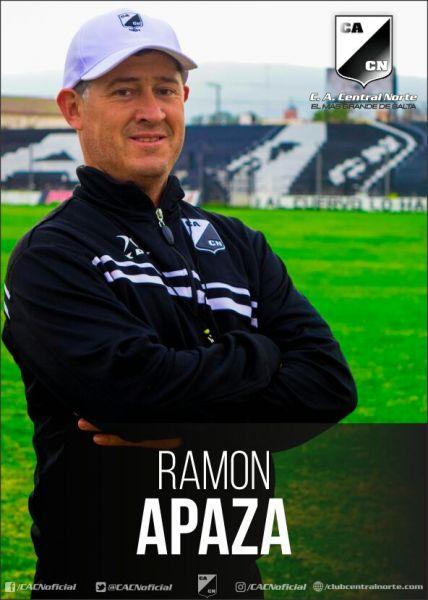 """Ramón """"Turco"""" Apaza, a cargo del plantel """"Cuervo"""" para la Copa Argentina."""