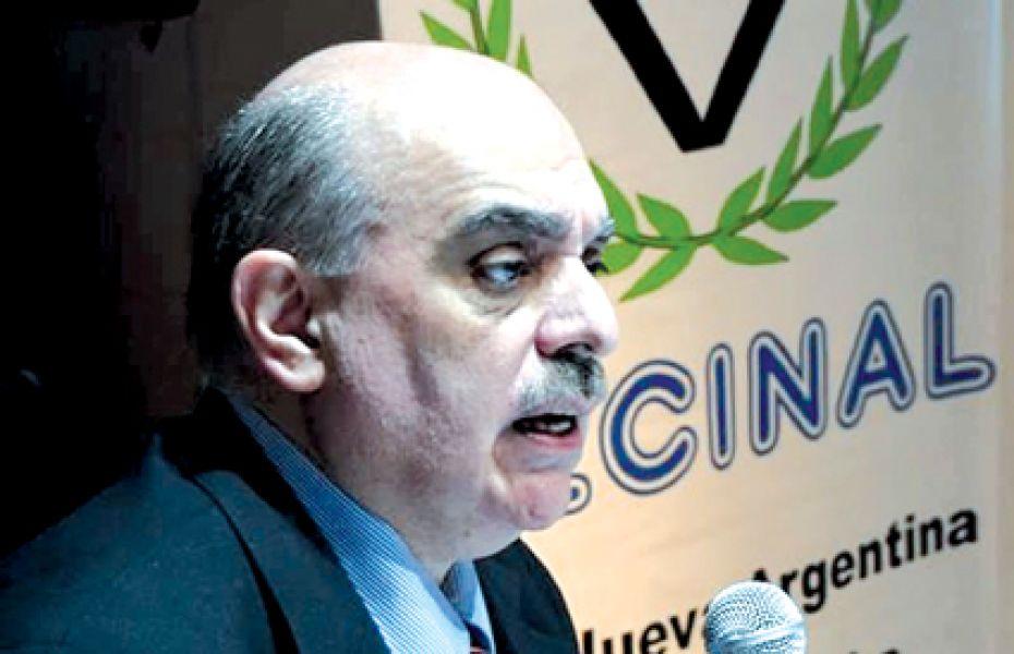 Alejandro Biondini, titular de Bandera Vecinal.