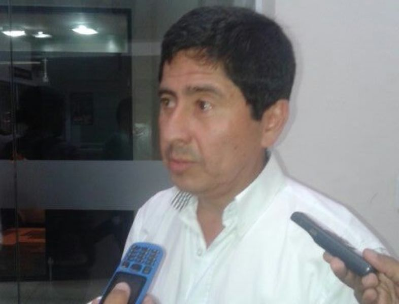 Daniel Cáseres, presidente de la Liga Salteña.