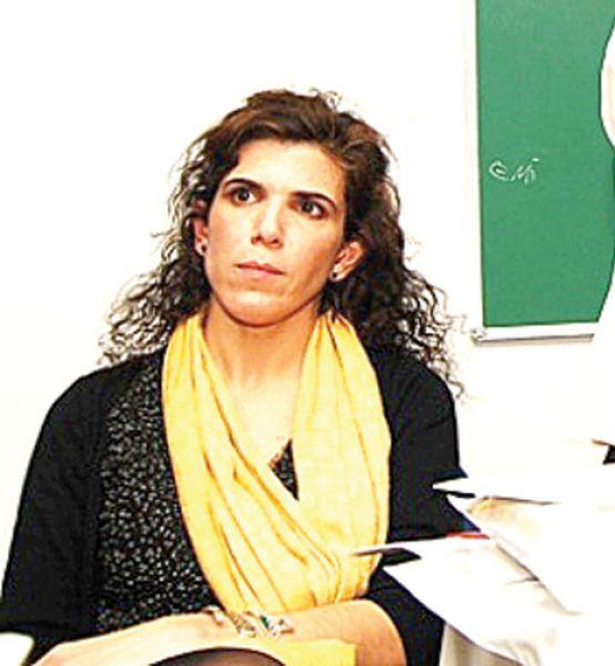 La doctora Florencia Cremona.