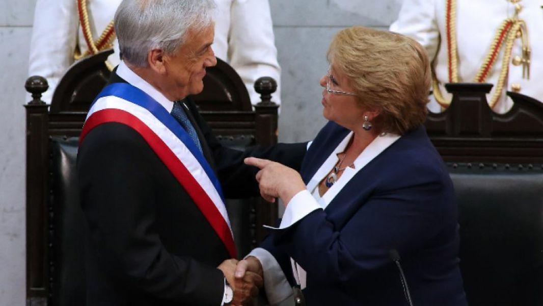 Sebastián Piñera Echeñique y Michelle Bachelet. En esta segunda Administración, el presidente recibe un país distinto.