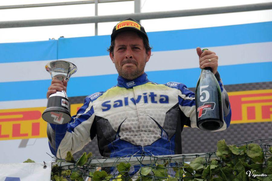 Pablo Vuyovich fue el mejor de los salteños en el TP C3.